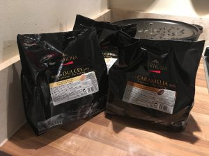Top quality chocolate from Valrhona Chocolates