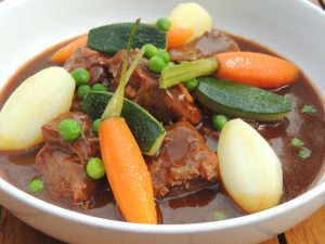 Navarin d'agneau de printemps (Lamb Navarin with spring vegetables)