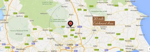 Private Chef Service Area For York, Harrogate, Leeds & Yorkshire