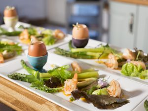 Boiled eggs can make a fantastic traditional Easter starter